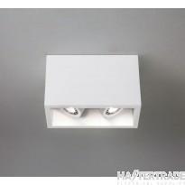 Astro 1252005 Osca 140 Twin Adjustable Plaster Finish Flush Ceiling Light