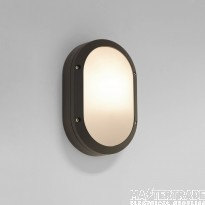 Astro 1309008 Arta Oval Outdoor Wall Light in Black
