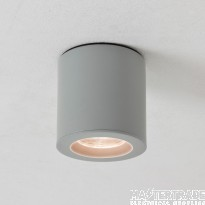 Astro 1326003 Kos LED Outdoor Downlight in Painted Silver Finish