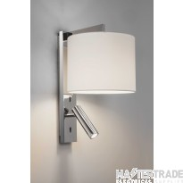 Astro 1222018 Ravello LED Wall Light In Polished Chrome, Fitting Only