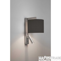 Astro 1222019 Ravello LED Wall Light In Matt Nickel, Fitting Only