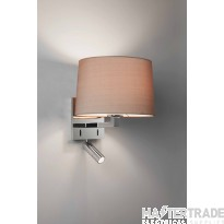 Astro 1142033 Azumi Wall Light In Polished Chrome, Fitting Only