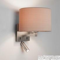 Astro 1142034 Azumi Wall Light In Matt Nickel, Fitting Only