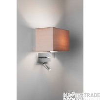Astro 1080029 Park Lane Reader Wall Light In Polished Chrome, Fitting Only