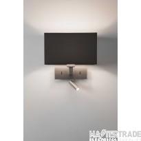 Astro 1080030 Park Lane Reader Wall Light In Matt Nickel, Fitting Only