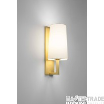 Astro 1214008 Riva Wall Light In Matt Gold, Fitting Only