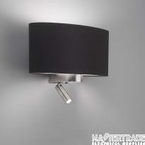 Astro 1185003 Napoli Reader Wall Light In Matt Nickel, Fitting Only