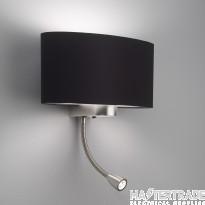 Astro 1185002 Napoli LED 2 Light Matt Nickel Modern Wall Bracket