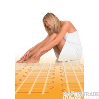 Eco floor Underfloor Heating Mat 160W output 1280W Area 8.0M2