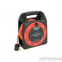 4-Gang 15m Extension Reel with Thermal Cut Out