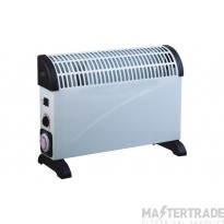 2000W Convector Heater with 24hr Timer