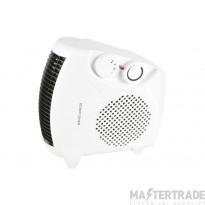 2KW Flat or Upright Portable Fan Heater