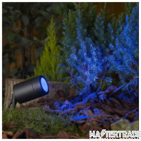 BELL 10343 Luna GU10 LED Garden Spike - Black, IP65