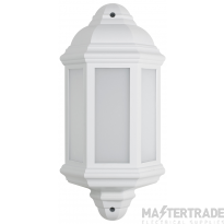 BELL 10356 Retro LED Intergrated Half Lantern White