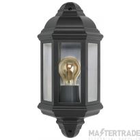 BELL Vintage Half Lantern Black - ES/E27 Lamp Base 10360