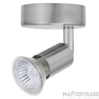 BELL 10374 Luna GU10 Ceiling Spotlight - Single, Satin