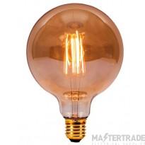 BELL 01437 4W LED Vintage 125mm Globe - ES, Amber, 2000K