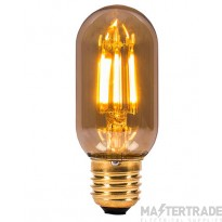 BELL 01439 4W LED Vintage Tubular - ES, Amber, 2000K - L110mm