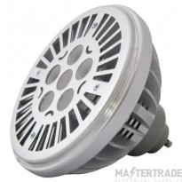 BELL 04411 14W LED AR111 Dimmable - GU10, 2700K, 40? Beam