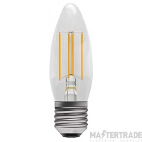 BELL 05024 4W LED Filament Clear Candle - ES, 2700K