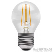 BELL 05031 4W LED Filament Clear Round - ES, 2700K