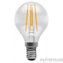 BELL 05032 4W LED Filament Clear Round - SES, 2700K