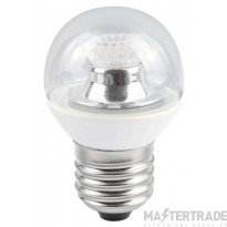 BELL 05148 4W LED 45mm Dimmable Round Ball Clear - ES, 4000K