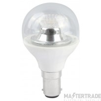 BELL 05158 4W LED 45mm Dimmable Round Ball Clear - SBC, 4000K