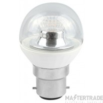 BELL 05187 4W LED 45mm Dimmable Round Ball Clear - BC, 2700K