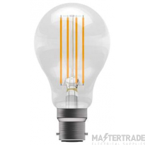 BELL 5302 6W LED Dimmable Filament GLS - BC, Clear, 2700K