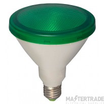 BELL 05651 15W LED PAR 38 External - ES, Green