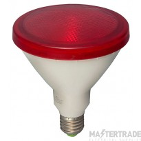 BELL 05652 15W LED PAR38 External - ES, Red