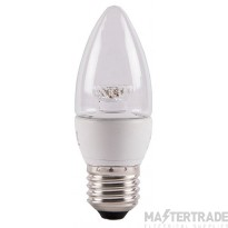 BELL 05703 4W LED Candle Clear - ES, 2700K