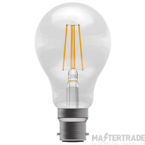 BELL 60045 4W LED Filament Clear GLS - BC, 4000K
