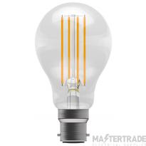 BELL 60047 6W LED Filament GLS - BC, Clear, 4000K