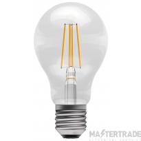 BELL 60060 4W LED Coloured Filament GLS - ES, Amber
