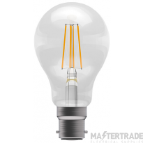 BELL 60061 4W LED Coloured Filament GLS - BC, Amber