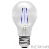 BELL 60062 4W LED Coloured Filament GLS - ES, Blue