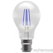 BELL 60063 4W LED Coloured Filament GLS - BC, Blue