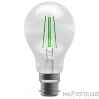 BELL 60065 4W LED Coloured Filament GLS - BC, Green