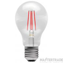 BELL 60066 4W LED Coloured Filament GLS - ES, Red