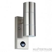 Luceco LEXDSSUDPIR Ext Up/Dwn Wall Light w/o GU10