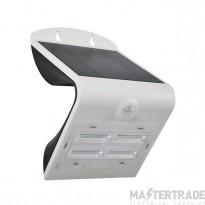 Luceco LEXS40W40 LED Wall Light Solar PIR 3.2W