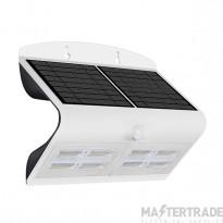 Luceco LEXS80W40 LED Wall Light Solar PIR 6.8W