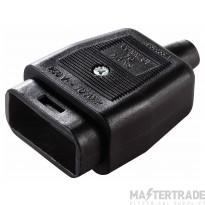 BG NC103SB Lead Connector 10A Black