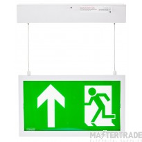 Channel E/CAMBER/HANG Exit Sign LED 3hrM