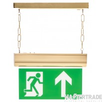 Channel Safety E/CHFO/M3/L/BRST LED Emergency Hanging Exit Blade 3hrM