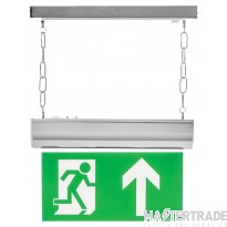 Channel Safety E/CHFO/M3/L/SAST LED Emergency Hanging Exit Blade 3hrM