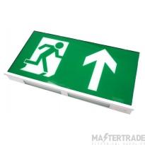 Channel Safety E/DA/M3/LED/3/ST Dale LED Emergency Exit Box 3hrM Self Test