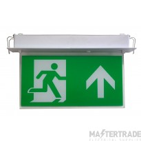 Channel E/RZ/M3/LED/F Exit Sign Flush